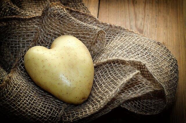 Kotlety ziemniaczane - ziemniak
